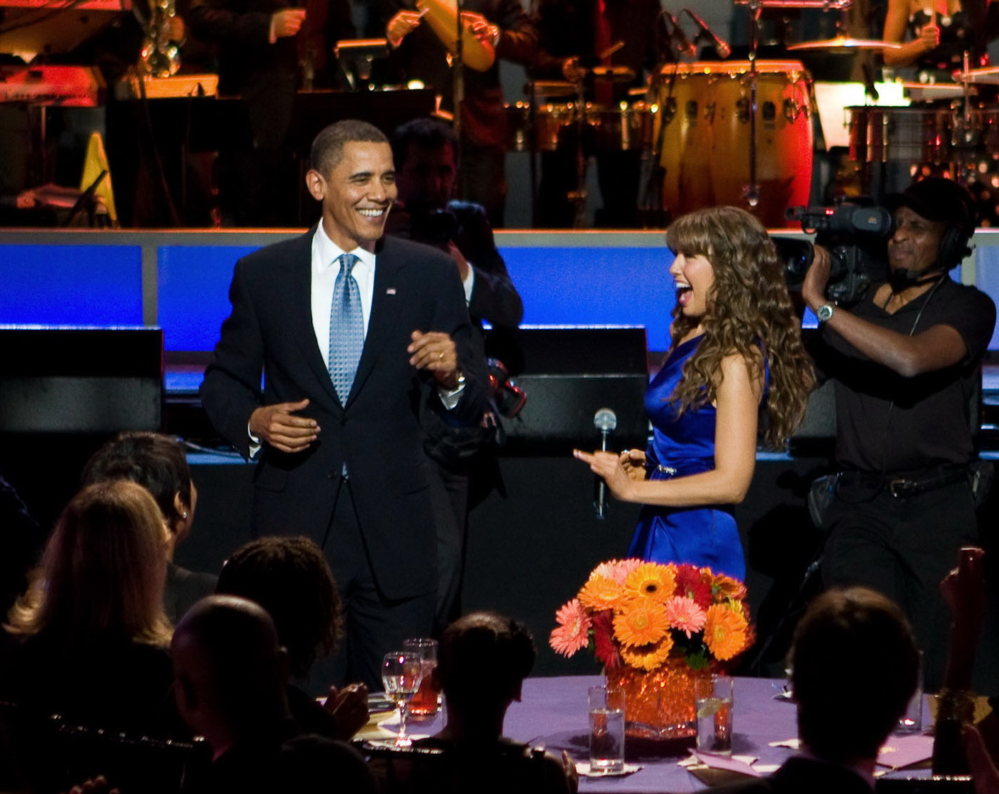 Thalia_and_Barack_Obama