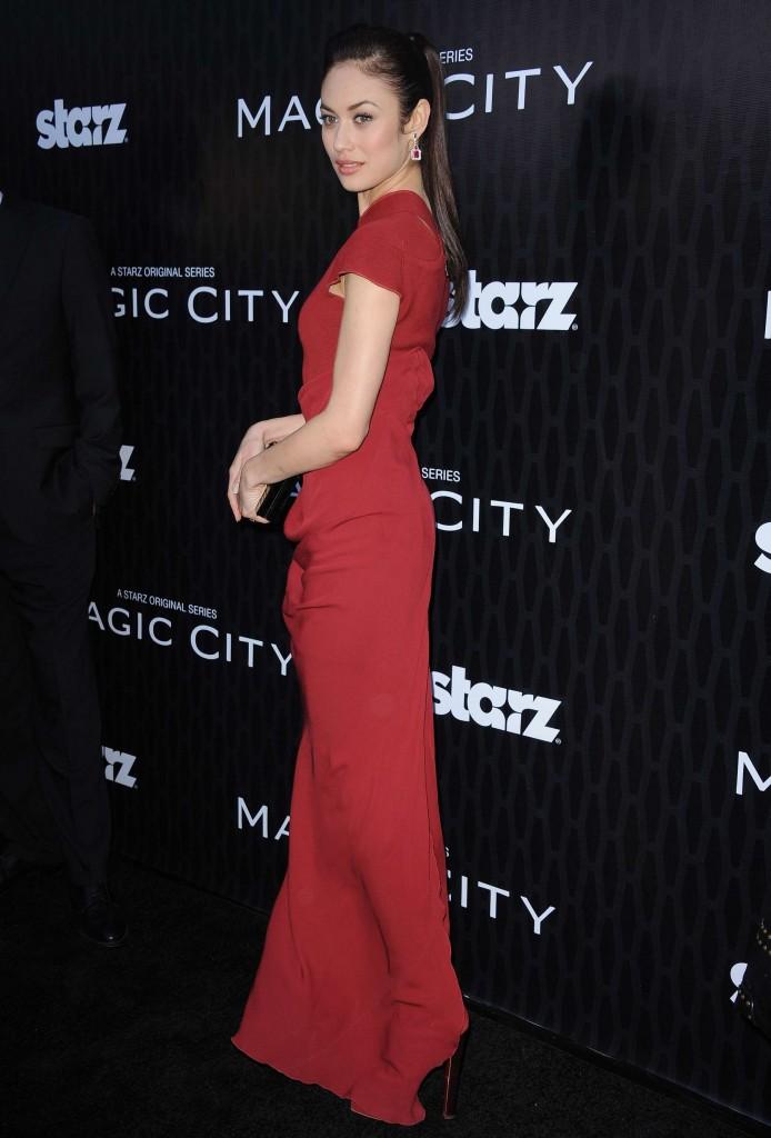 Olga Kurylenko hot at Magic City Premiere-06